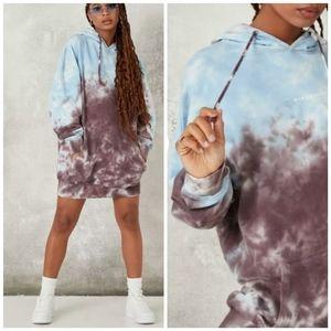105) Oversized hoodie dress tunc! Cotton!!! Tie …